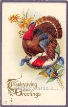 hol062059 - Thanksgiving Old Vintage Antique Postcard Post Card