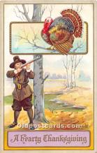 hol062078 - Thanksgiving Old Vintage Antique Postcard Post Card