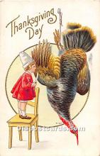 hol062079 - Thanksgiving Old Vintage Antique Postcard Post Card