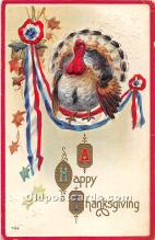hol062086 - Thanksgiving Old Vintage Antique Postcard Post Card