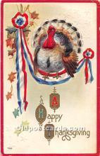 hol062086 - Thanksgiving Old Vintage Antique Postcard Post Card