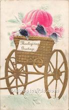 hol062103 - Thanksgiving Old Vintage Antique Postcard Post Card