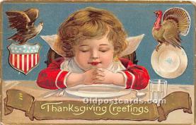 hol063003 - Thanksgiving Greeting Postcard