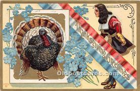 hol063004 - Thanksgiving Greeting Postcard