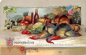 hol063005 - Thanksgiving Greeting Postcard
