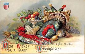 hol063006 - Thanksgiving Greeting Postcard