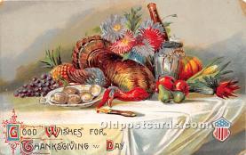 hol063009 - Thanksgiving Greeting Postcard