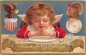 hol063010 - Thanksgiving Greeting Postcard