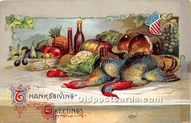hol063011 - Thanksgiving Greeting Postcard