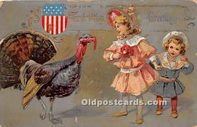 hol063013 - Thanksgiving Greeting Postcard