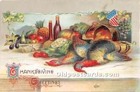 hol063018 - Thanksgiving Greeting Postcard