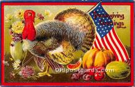 hol063049 - Thanksgiving Greeting Postcard
