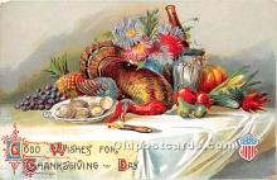 hol063050 - Thanksgiving Greeting Postcard
