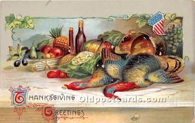 hol063051 - Thanksgiving Greeting Postcard