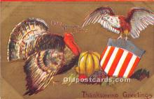 hol063055 - Thanksgiving Greeting Postcard