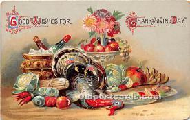 hol063060 - Thanksgiving Greeting Postcard