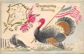 hol063061 - Thanksgiving Greeting Postcard
