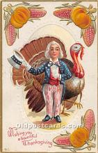 hol063064 - Thanksgiving Greeting Postcard