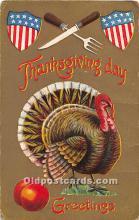 hol063066 - Thanksgiving Greeting Postcard