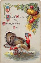 hol063068 - Thanksgiving Greeting Postcard