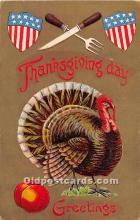 hol063076 - Thanksgiving Greeting Postcard