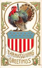 hol063082 - Thanksgiving Greeting Postcard