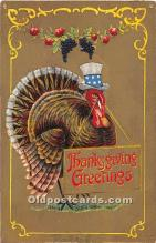 hol063085 - Thanksgiving Greeting Postcard