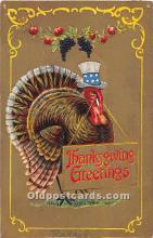 hol063085 - Thanksgiving Greeting Postcard