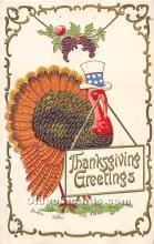 hol063092 - Thanksgiving Greeting Postcard