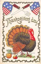 hol063093 - Thanksgiving Greeting Postcard