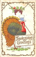 hol063134 - Thanksgiving Greeting Postcard