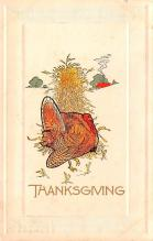 hol064045 - Thanksgiving Postcard Old Vintage Antique Post Card