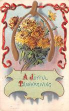 hol064059 - Thanksgiving Postcard Old Vintage Antique Post Card