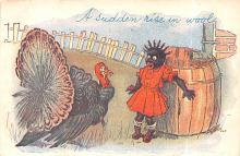 hol064153 - Thanksgiving Postcard Old Vintage Antique Post Card