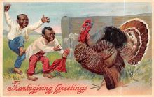 hol064155 - Thanksgiving Postcard Old Vintage Antique Post Card