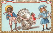 hol064159 - Thanksgiving Postcard Old Vintage Antique Post Card