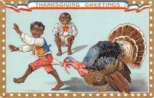 hol064167 - Thanksgiving Postcard Old Vintage Antique Post Card