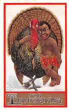 hol064173 - Thanksgiving Postcard Old Vintage Antique Post Card