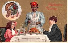 hol064177 - Thanksgiving Postcard Old Vintage Antique Post Card