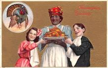 hol064181 - Thanksgiving Postcard Old Vintage Antique Post Card
