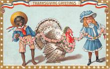 hol064193 - Thanksgiving Postcard Old Vintage Antique Post Card