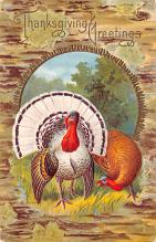 hol064209 - Thanksgiving Postcard Old Vintage Antique Post Card