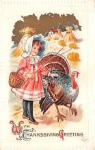 hol064213 - Thanksgiving Postcard Old Vintage Antique Post Card
