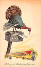 hol064231 - Thanksgiving Postcard Old Vintage Antique Post Card