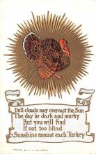 hol064243 - Thanksgiving Postcard Old Vintage Antique Post Card