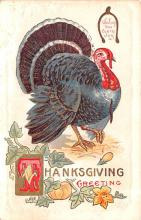 hol064317 - Thanksgiving Postcard Old Vintage Antique Post Card