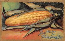 hol064383 - Thanksgiving Postcard Old Vintage Antique Post Card