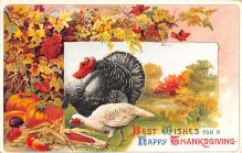 hol064397 - Thanksgiving Postcard Old Vintage Antique Post Card