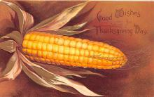 hol064423 - Thanksgiving Postcard Old Vintage Antique Post Card