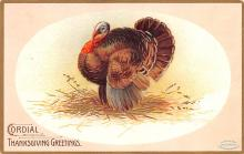 hol064439 - Thanksgiving Postcard Old Vintage Antique Post Card